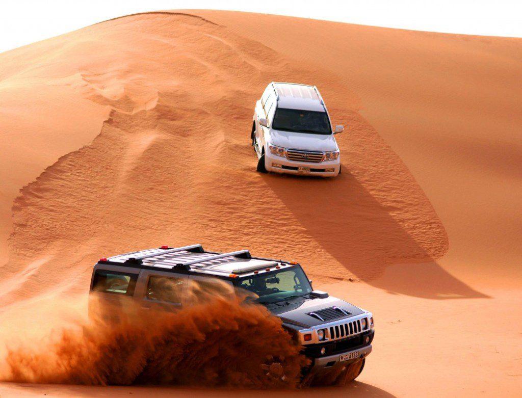 Luxury Hummer Safari