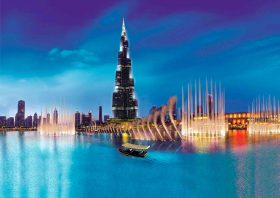 Burj Khalifa / Fountain Show
